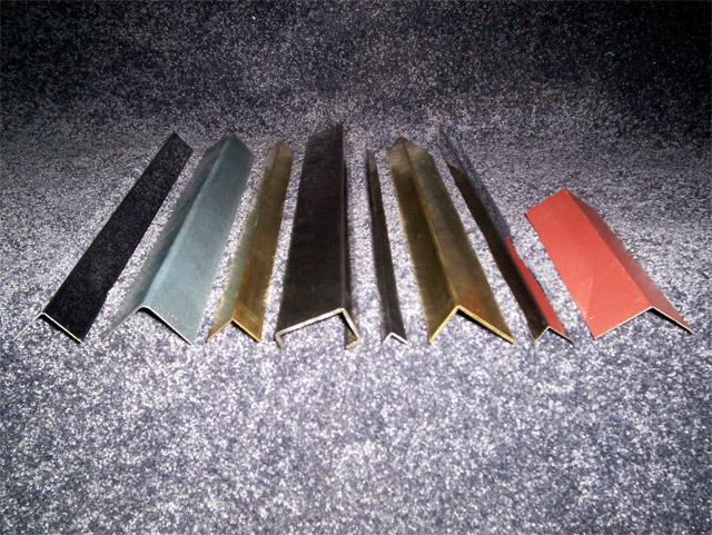 metal forming angles steel galvanized stainless steel prototype angles