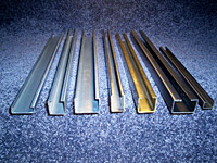 Metal Forming - Angles - Channels - Decorative Trim